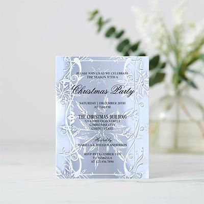 Elegant-Silver-Crystal-Christmas-Party-Invitation-Postcard